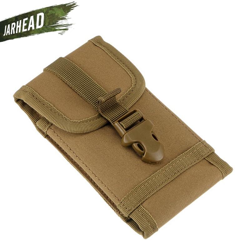 5,5 bolso de teléfono portátil táctico Molle Kit de accesorios camuflaje Hunter deportes al aire libre móvil funda de bolsillo (16,5x9,5x2cm)