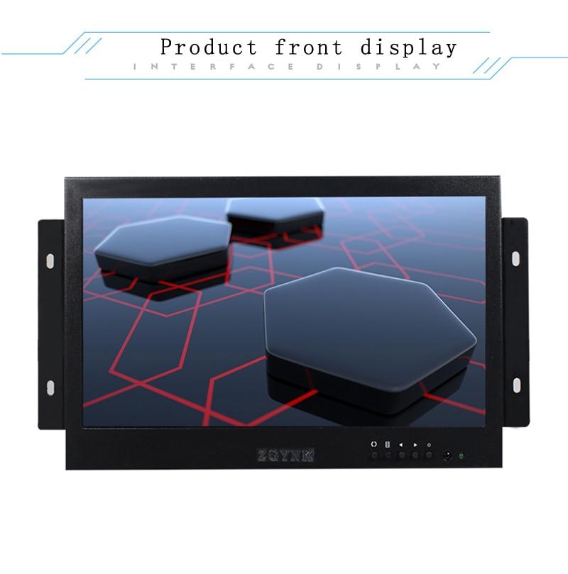 10 polegada LED open embedded security monitor LCD monitor de computador HDMI BNC interface do monitor HD