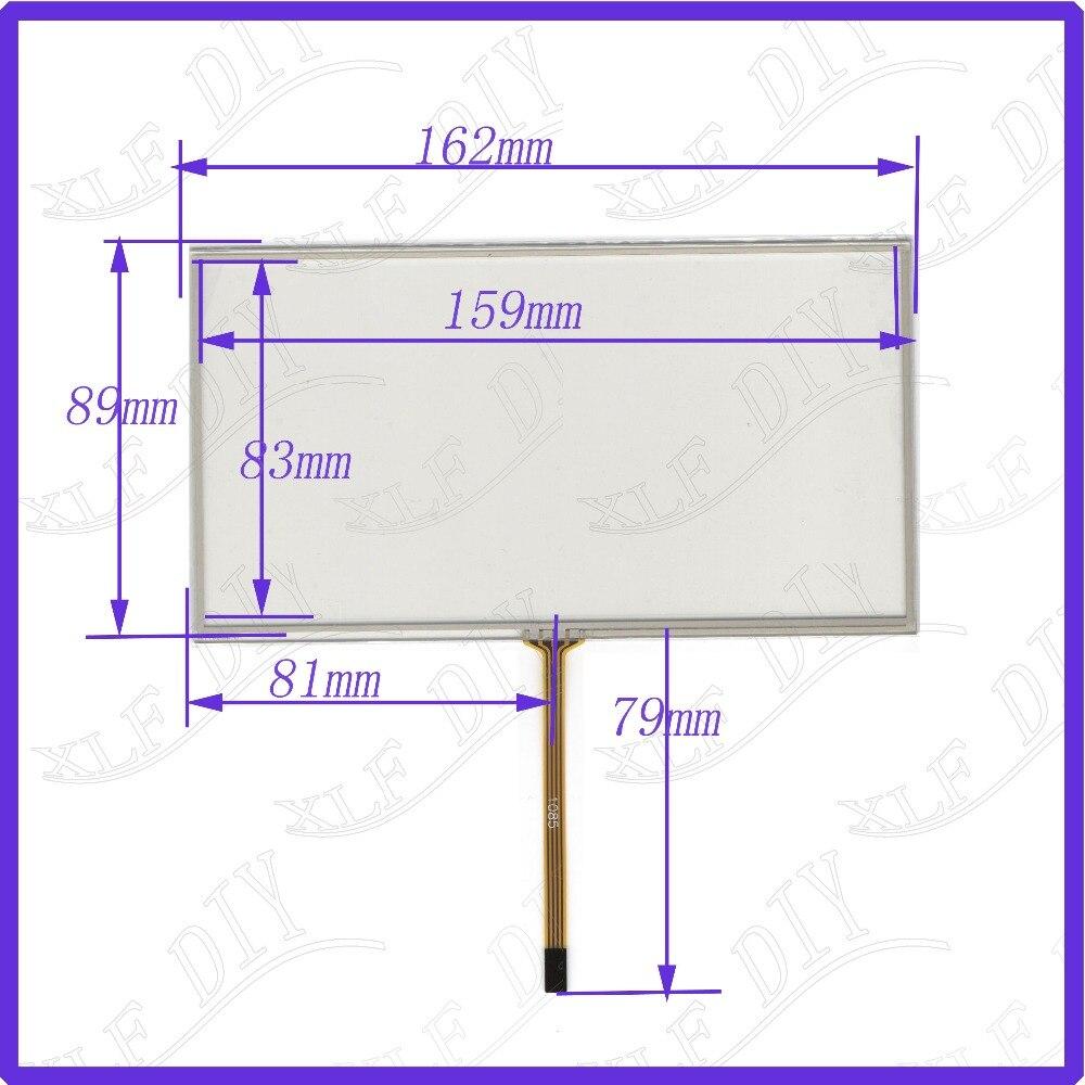 162*89mm compatible con pantalla táctil de cristal y DVD gps para coche pantalla táctil de control Industrial de 162mm * 89mm