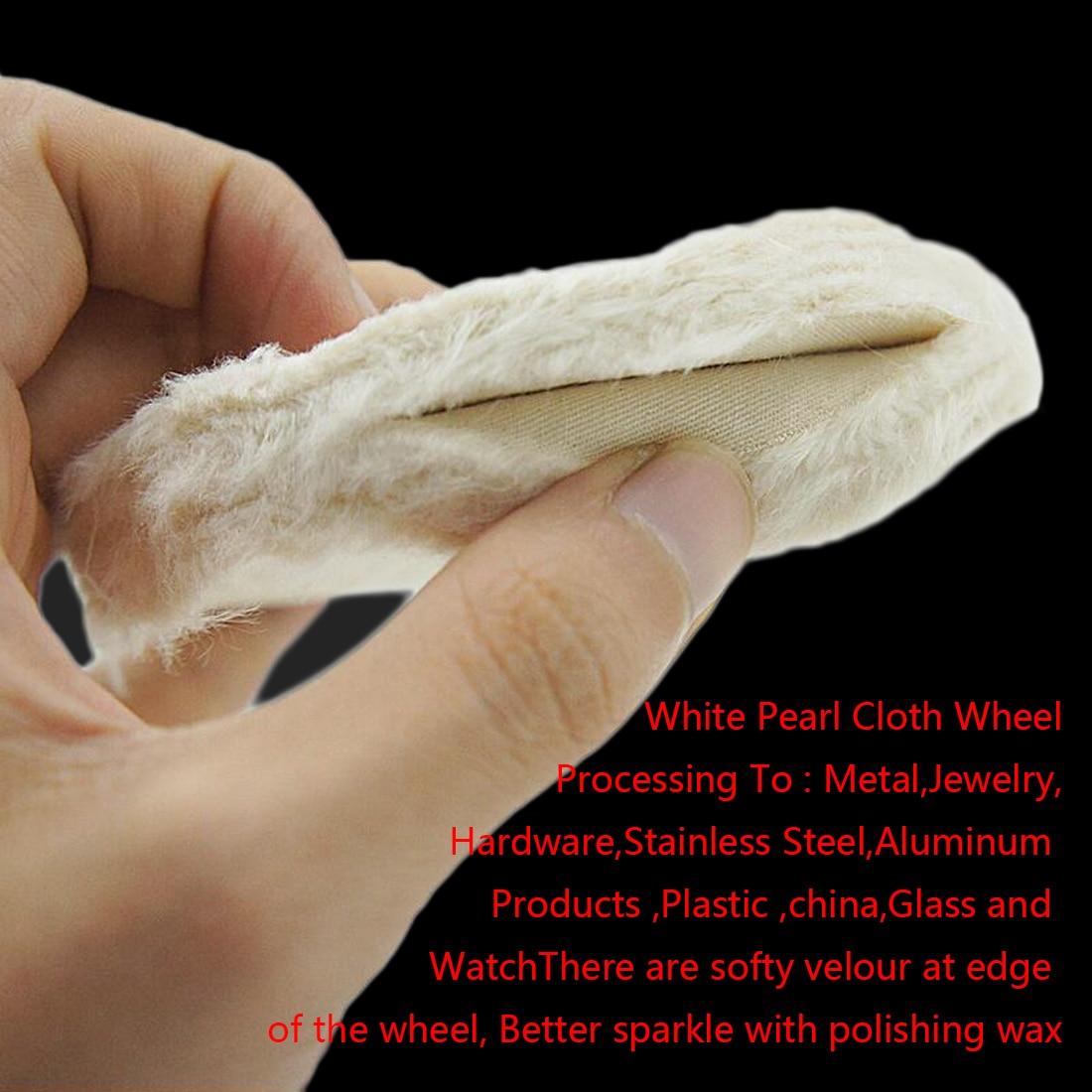 2-12 inch wielen polijsten polijstwiel katoen lint doek polijsten - Schurende gereedschappen - Foto 6