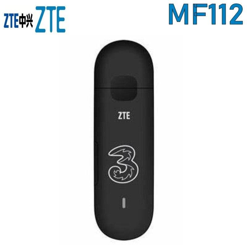 الكثير من 10 قطعة مقفلة ZTE MF112 7.2 150mbps اللاسلكي مودم 3g HSDPA/UMTS 850/1900/ 2100 Mhz
