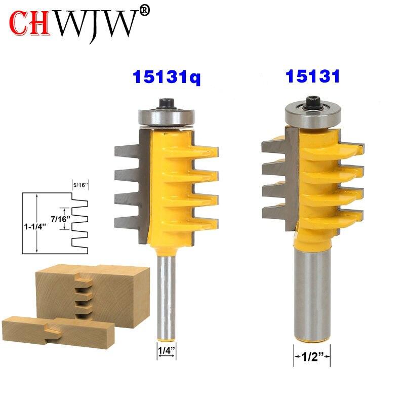 1 шт. 1/2 дюйма хвостовик рельса и Stile Finger Joint клей фреза конус Шион резчик по дереву электроинструменты