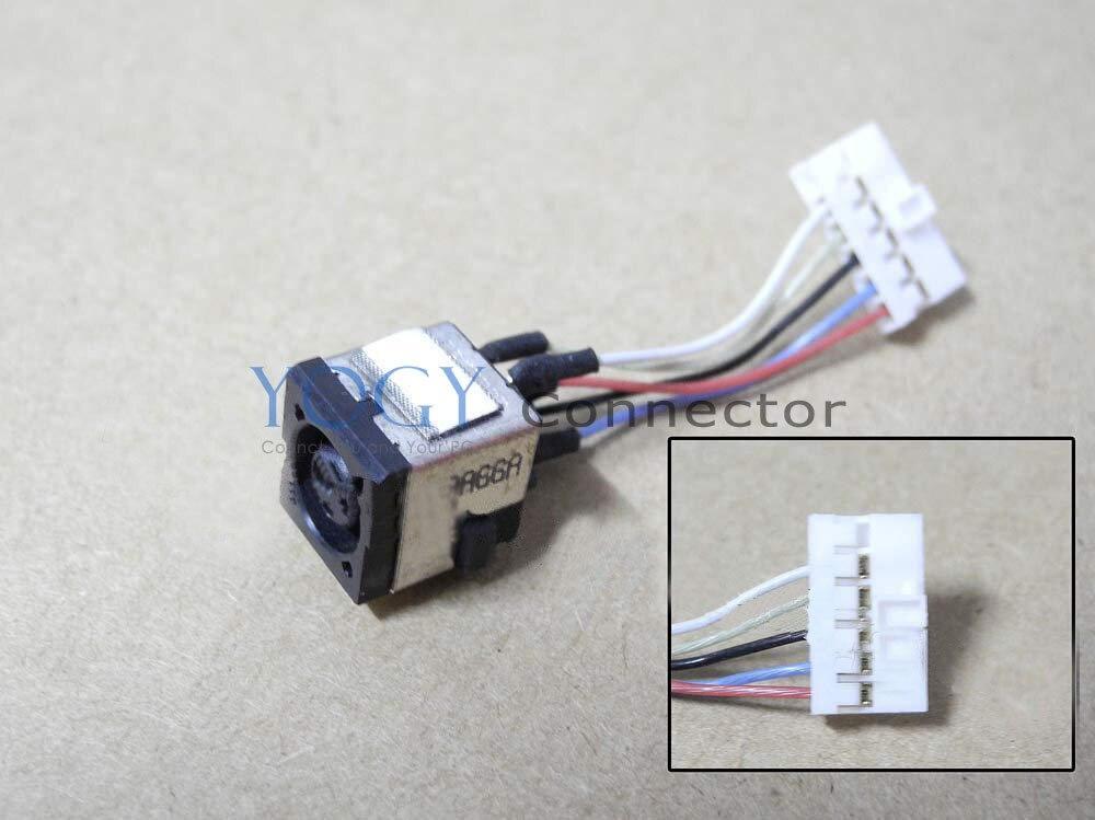 10x nuevo conector DC con conector de Cable, ajuste de enchufe para Dell Alienware M11X