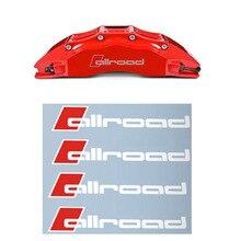 4 teile/los gute Oracal Material Allroad Bremsen decals aufkleber für Audi A1 A3 A4 A4L A6 A6L A7 A8 Q3 q5 Q7 TT S RS