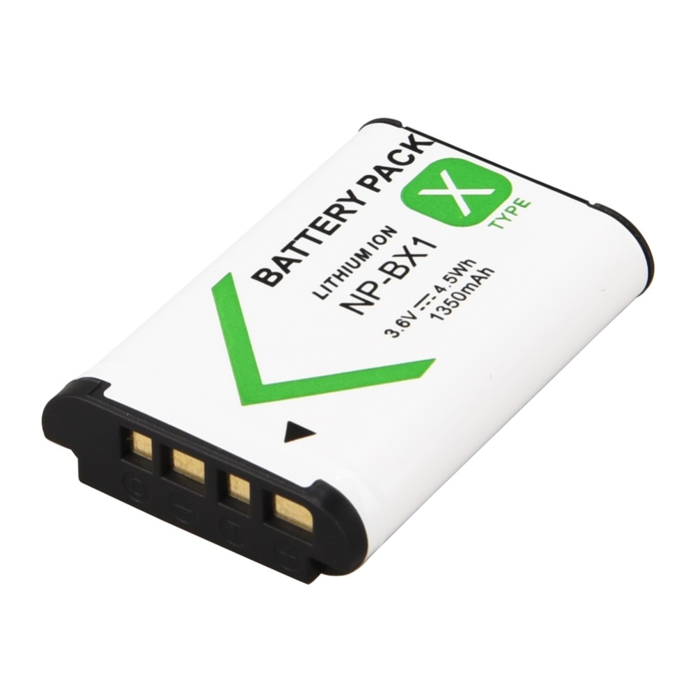 1350mah NP-BX1 NP BX1 Digital Camera Battery Pack for Sony DSC RX1 RX100 M3 M2 RX1R GWP88 PJ240E AS15 WX350 WX300 HX300 HX400