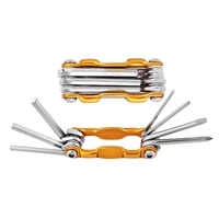 6pcsset portable folding key hex wrench set metric system inner hexagon spanner allen wrench screw repair tools 3456mm