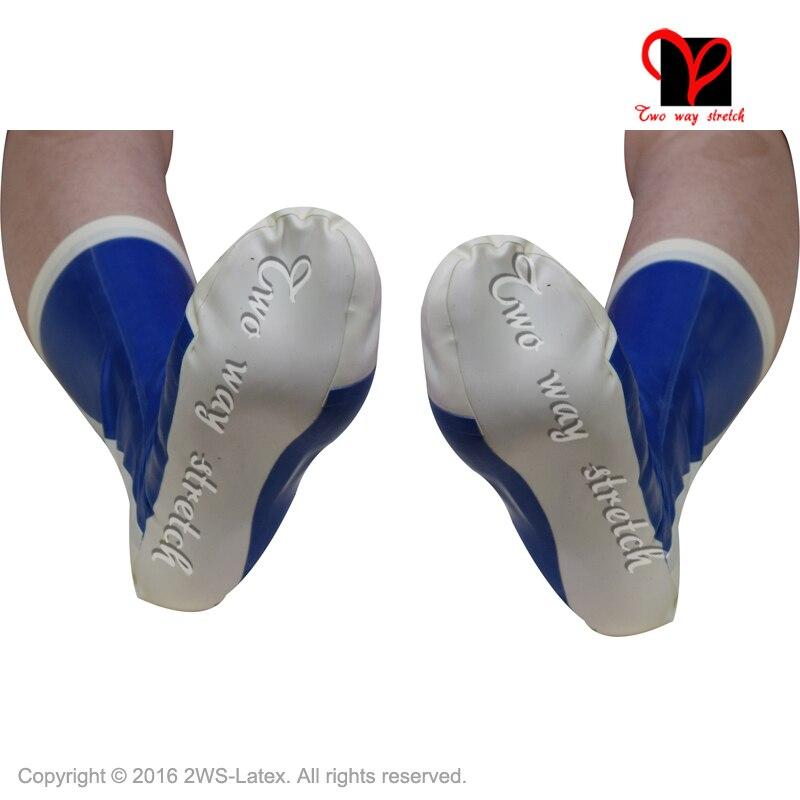 Sexy Latex Kurz plain socken Low Cut Ankle Gummi geklebt socken latex legwear fuß Latex socke WZ-012