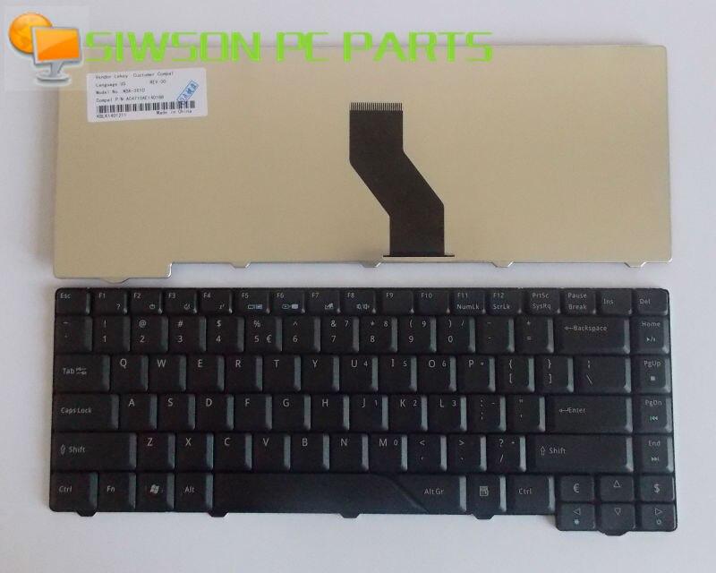 Teclado para ordenador portátil de repuesto para Acer Aspire 5720 5720 5720G...