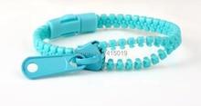 New 100x Base ragazze ragazzi cerniera zip bracciali braccialetti braccialetto di plastica bottino pinata cariche sacchetto del partito favori regali premi