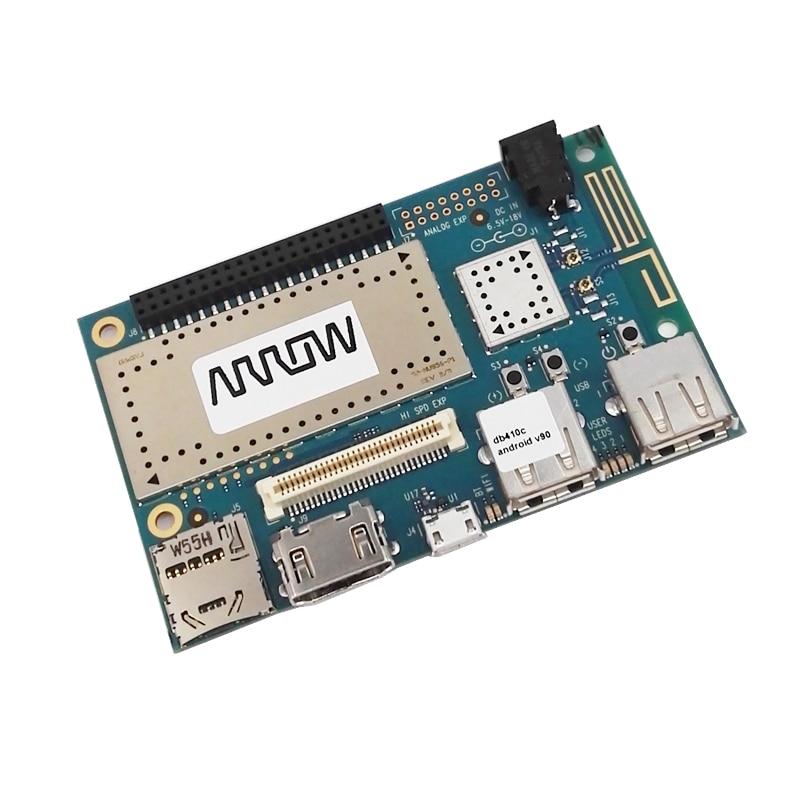 DRAGONBOARD 410C 1200MHz CPU 1GB RAM 8GB eMMC Flash Android 5,1/Linux на базе Debian/Win10 IoT Core