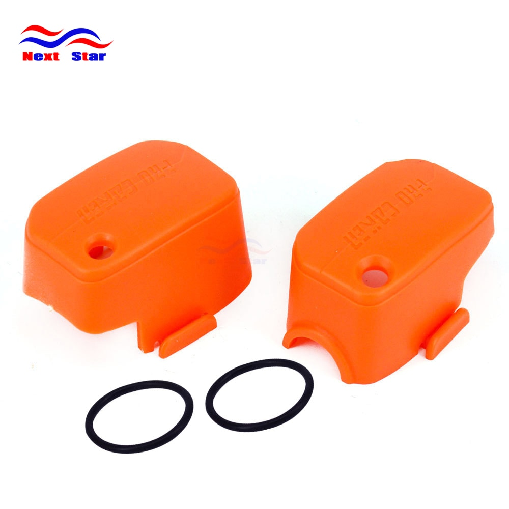 Motorcycle Plastic Orange Master Cylinder Cover Guard Protector For KTM EXC XC XCF MX EGS SX SMR 50 85 125 200 250 300 400 530