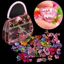 DIY Handgemachte Perlen Spielzeug Edelstein Spielzeug Spielen Haus Kinder Kreative Mädchen Weben Armband Schmuck, Der Spielzeug Pädagogisches Kinder Geschenk