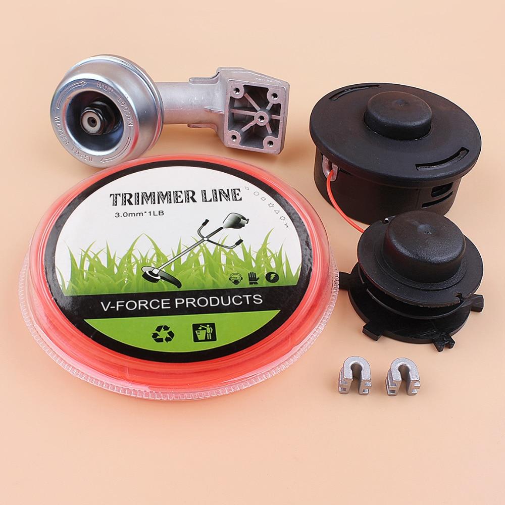 Caja de cambios micro 24mm engranaje de cabezal de corte cuerda de alambre Kit de Stihl FS90 FS90R FS100 FS120 FS130 FS200 FR220 FS250 FR350 FR480 FT100 Trimmer