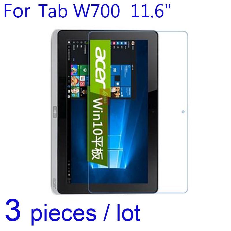 "Protectores de pantalla para tableta Acer Iconia Tab W700 11,6 ""/A510 10,1"", 3 uds, películas protectoras transparentes/mate/Nano Anti-explosión"