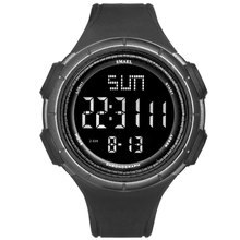 New Fashion Men Digital Watches Men Sports Watches Smael Led Digital Watches Waterproof Silicone Wat