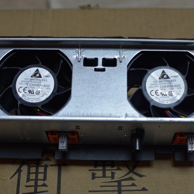 Original dell R710 GY080 42940 servidor ensamblaje componente ventilador de refrigeración