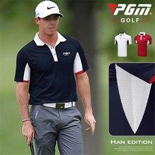 2019 chemises de Golf hommes à manches courtes chemise Sport vêtements de Golf homme col rabattu vêtements de Sport Tennis t-shirt vêtements