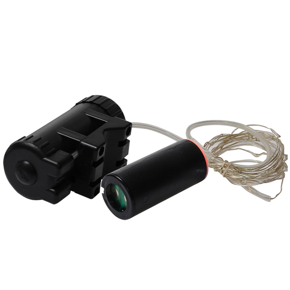 220cm 7,5 cm impermeable ciclismo USB recargable bicicleta rueda blanca señal de neumáticos radios luces LED luces traseras AP0816