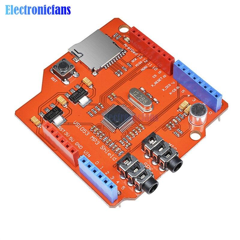 Стерео аудио mp3-плеер VS1053 VS1053B, щит для �