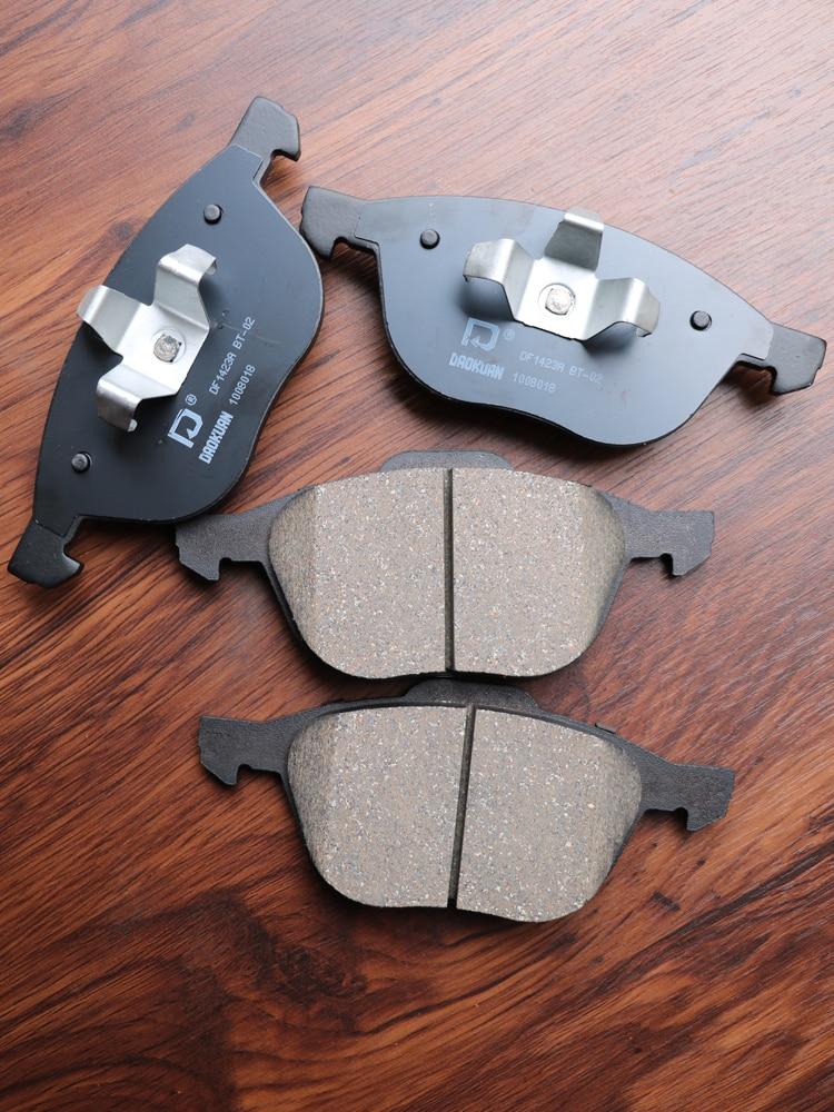 1pair/kit Front /Rear Brake pads set auto car PAD KIT DISC BRAKE for MAZDA 3 FAW Pentium Automobile motor part C2Y3-33-23ZA