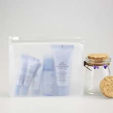 Fashion Travel Women Clear Transparent Cosmetic Bag Small PVC Necessary Makeup Bag Case Bath Wash Or