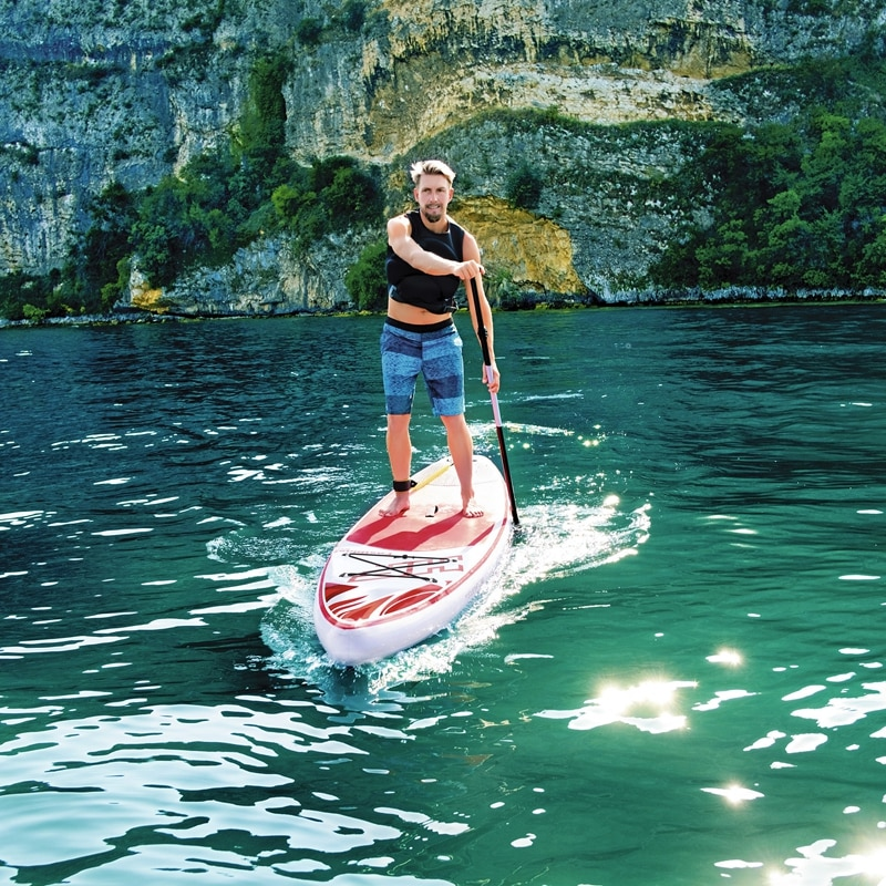 12ft 76cm Wide Large Inflatable Race/Fast Touring SUP Stand Up Paddle Board Fastblast Tech Summer Water Sports