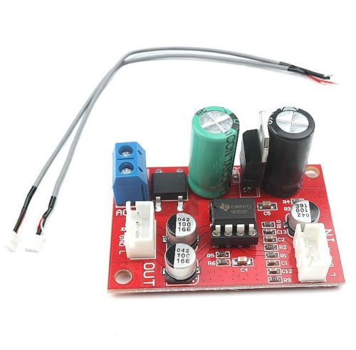 1 PCS NE5532 Preamp Amplificador Board + Blindagem De Sinal Estéreo Microfone Dinâmico