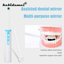 WiFi caméra dentaire HD vidéo Endoscope intra-oral 8 pièces lumière LED USB câble Inspection pour dentiste Oral en temps réel vidéo outil dentaire