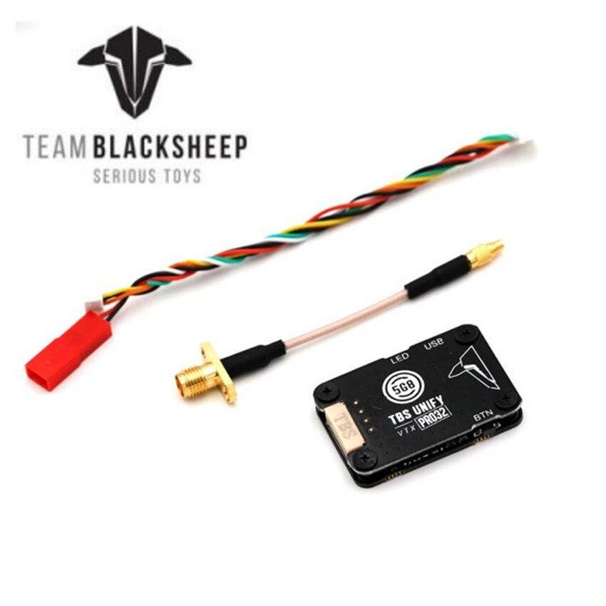 Transmisor de vídeo TBS Unify Pro32 5G8 HV con conector MMCX para Dron de carreras de control remoto modelo RC