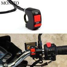 Motorcycle Switch Button Handlebar Switch Connector Push light Switch For Honda MSX 125 CB650R CB125R XADV X ADV 750 X11 ST1300