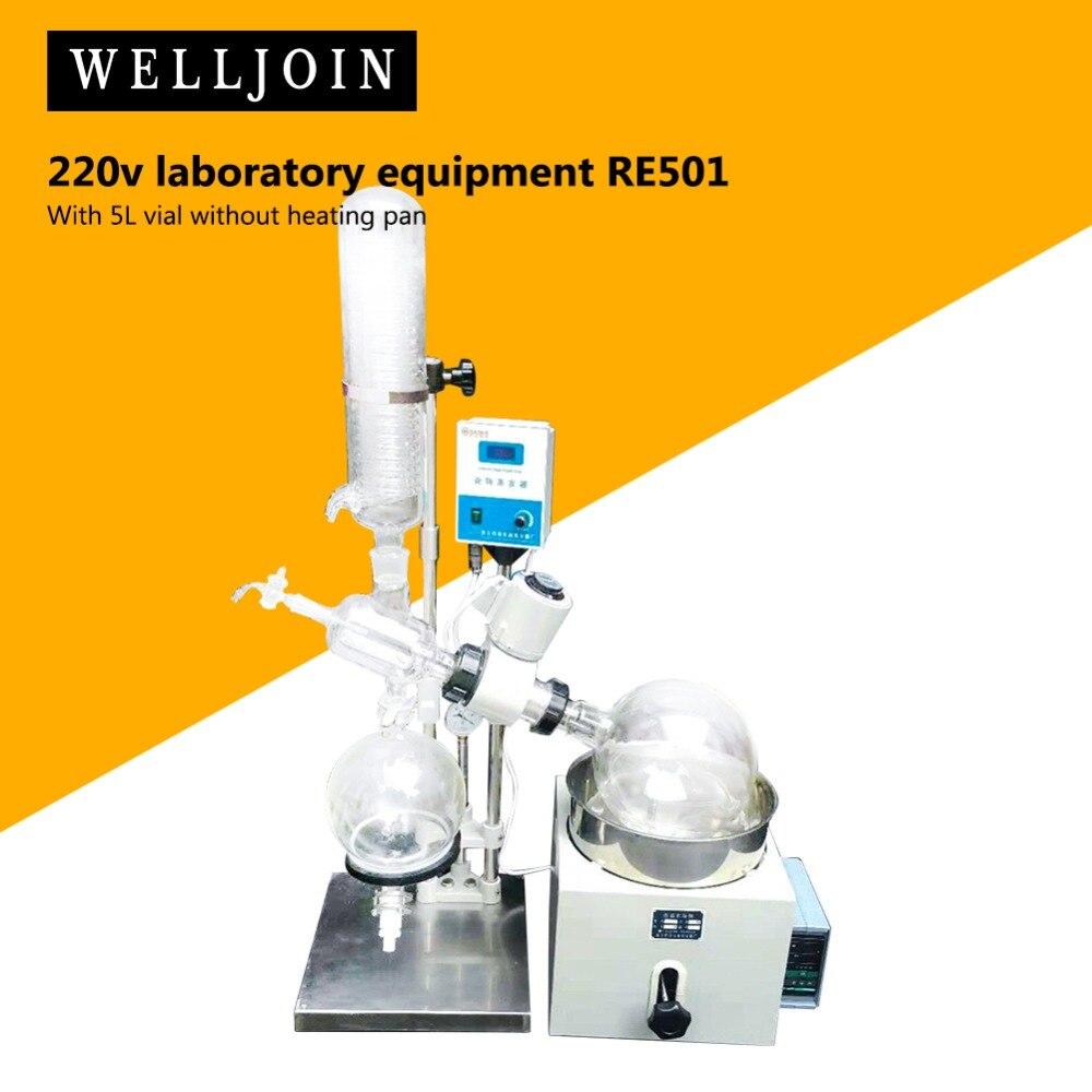 110V 220V 5L evaporador Rotavapor equipo de laboratorio RE501 envío rápido