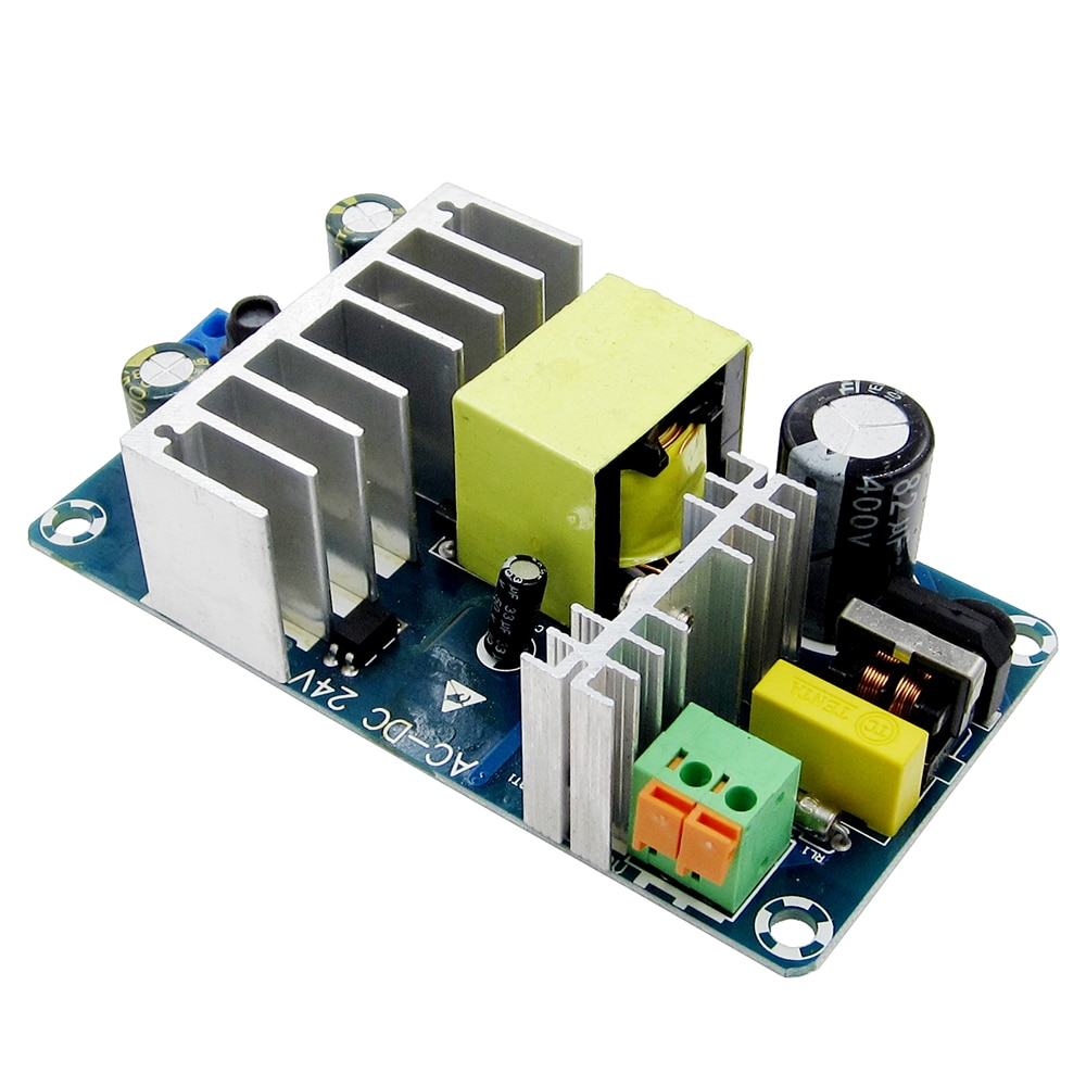 CA 100-240V a 24V CC 4A 6A, Módulo del interruptor de la fuente de alimentación AC-DC