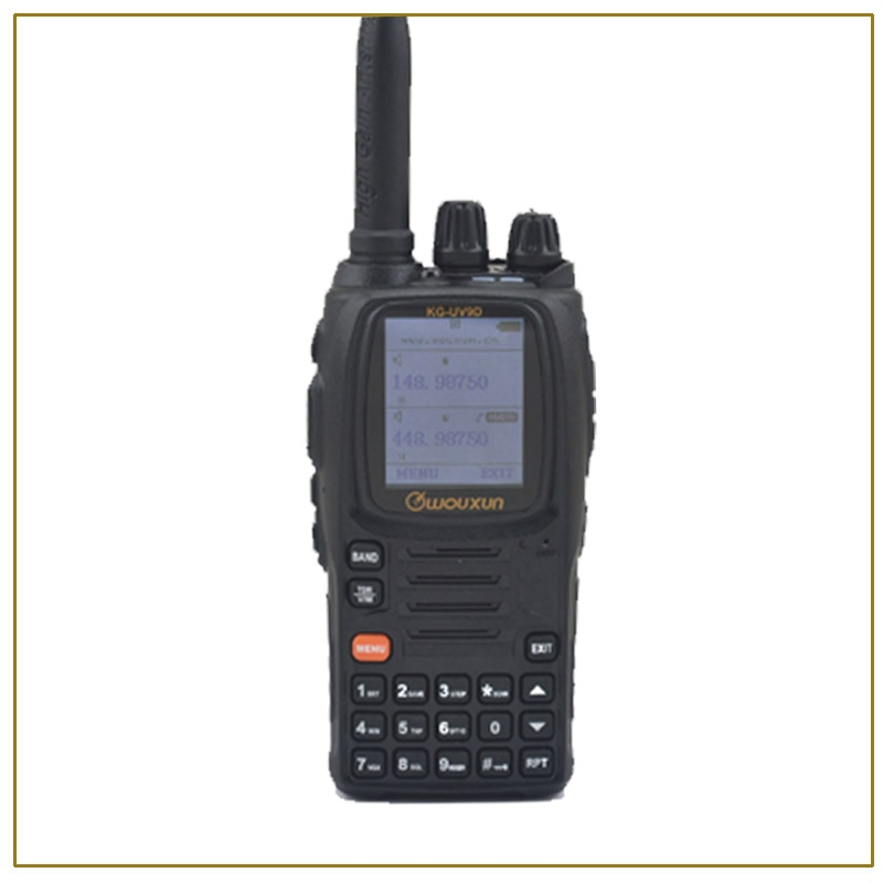 Original WOUXUN KG-UV9D VHF136-174MHz &UHF400-512MHz Dual Band DTMF TWO WAY Radio Original WOUXUN KG UV9D Walkie talkie