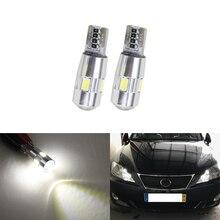 2x T10 W5W Voiture de Stationnement Led Feux de Gabarit Pour Lexus RX350 RX300 IS250 RX330 LX470 IS200 GS350 LX570 IS350 SC430 Voiture-Style