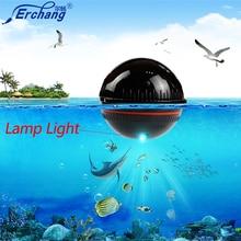Détecteur de poisson Erchang détecteur de capteur de Sonar sans fil Portable détecteur de poisson détecteur décho Bluetooth sondeur de poisson