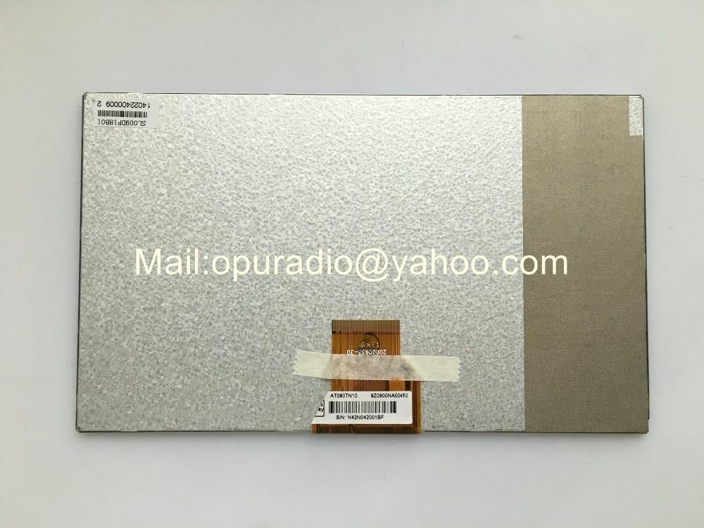Brand new Tela AT090TN10 Chimei Innolux 9 polegadas lcd para Tablet PC GPS MP4 MP5 Allwinner A13 Q9 Sanei N91 Elite MOMO9