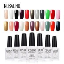 Rosalind 10ml 01-58 esmalte de uñas de gel de colores blanco botella brillante colorido gel barniz de gel LED UV laca