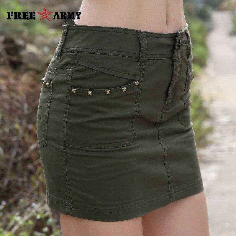 جديد الأزياء السراويل المرأة العسكرية الجيش الأخضر التمويه طباعة قصيرة الصيف نمط الفتيات مثير اصطف السراويل التنانير سيدة GK-9507A/B