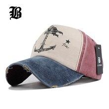 Chapeaux de baseball pour couples en 5 panneaux   Casquette hip-hop, casquette de baseball en pur coton pour hommes et femmes, base-ball gorras ancre des vieux navires pirates