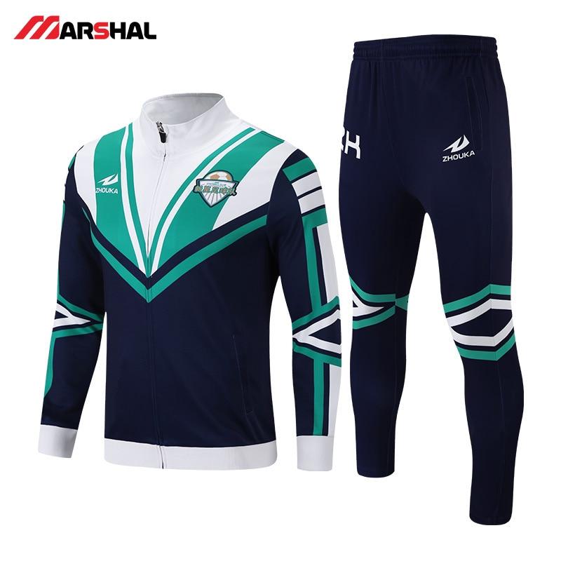Индивидуальные футбол спортивный костюм рубашка с длинными рукавами брюки