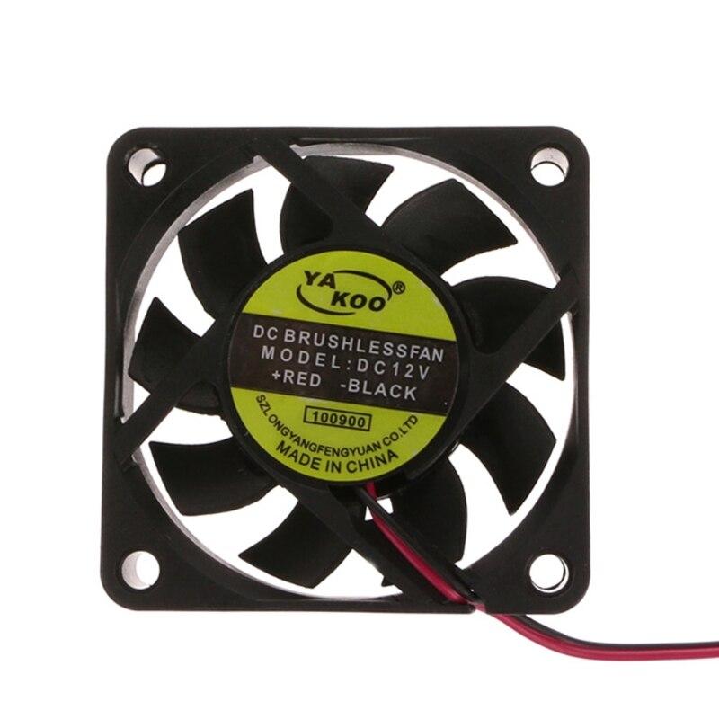 PC ordinateur CPU système manchon-roulement ventilateur de refroidissement 6015 livraison directe