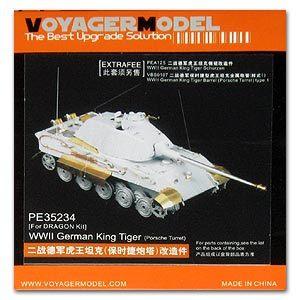 knl hobby modelo voyager pe35234 tiger king para caminhoes pesados pecas de gravacao