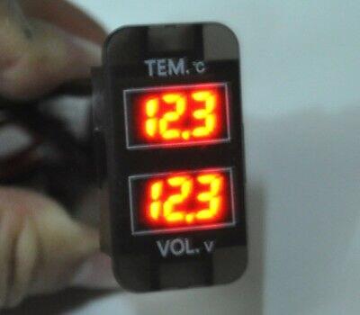 Dual voltios de batería medidor para Toyotaa Prado 120 Lexus LX470 Landcruiser 100