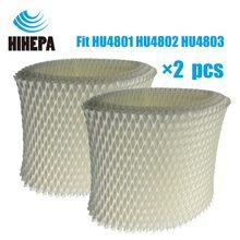 2-pcs Originele Oem HU4102 Bacteriën & Schaal Luchtbevochtiger Filters Voor Philips HU4801 HU4802 HU4803 HU4811 HU4813 Luchtbevochtiger Onderdelen