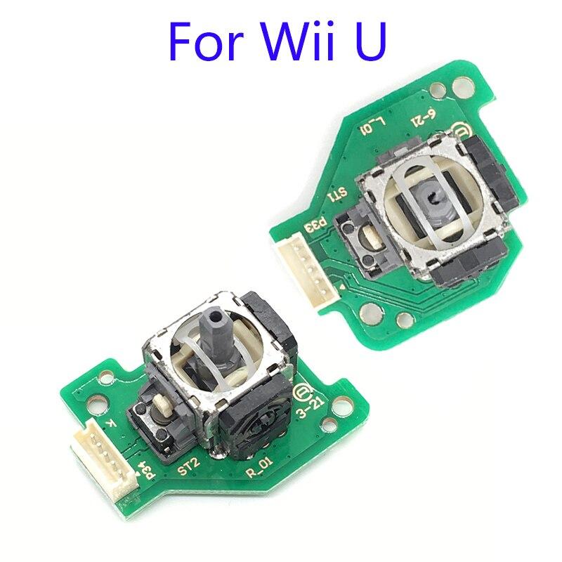 Left & Right Analog Joystick para Wii U Peças para WiiU Joysticks Joystick Vara Substituição