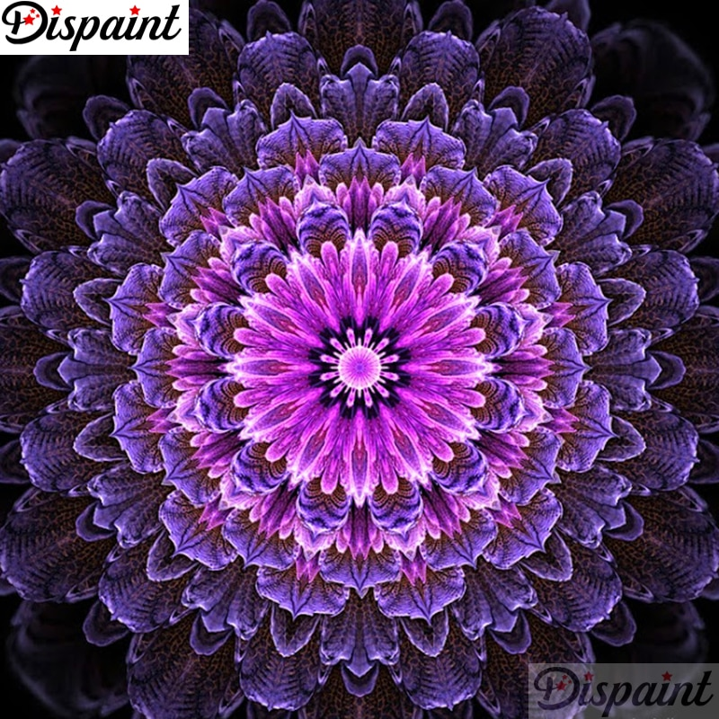Dispaint Full Square/Round Drill 5D DIY Diamond Painting Mandala scenery 3D Embroidery Cross Stitch Home Decor A11845