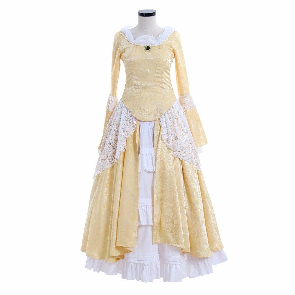Victoriano elegante gótico aristócrata siglo XVIII para mujer Cosplay vestido Medieval boda traje L0516