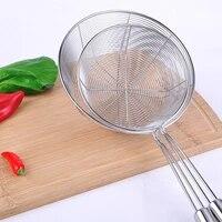 stainless steel cooking colander pro kitchen strainer noodles colander two types food filter strainer