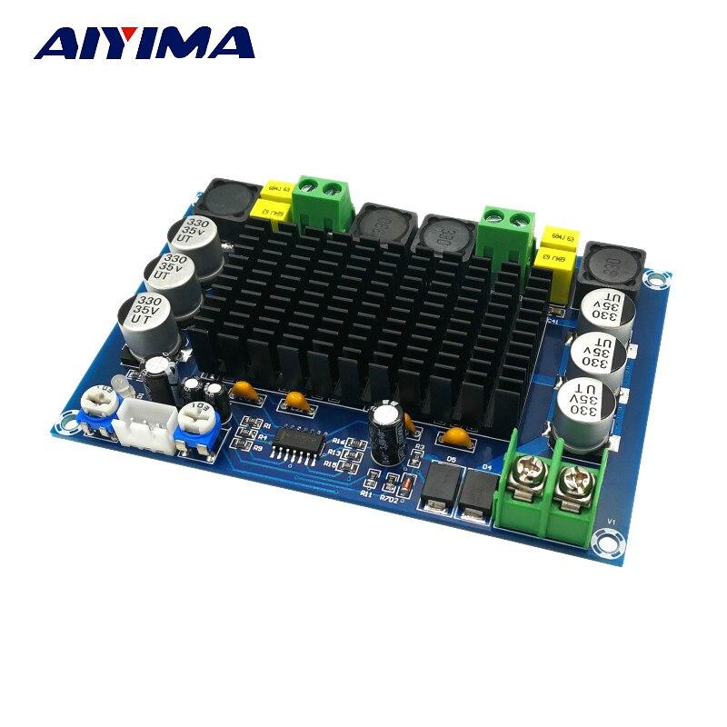 Aiyima New TPA3116D2 Audio Amplifier Board Amplificador Dual Channel High Power Digital Amplifier Board 150W*2