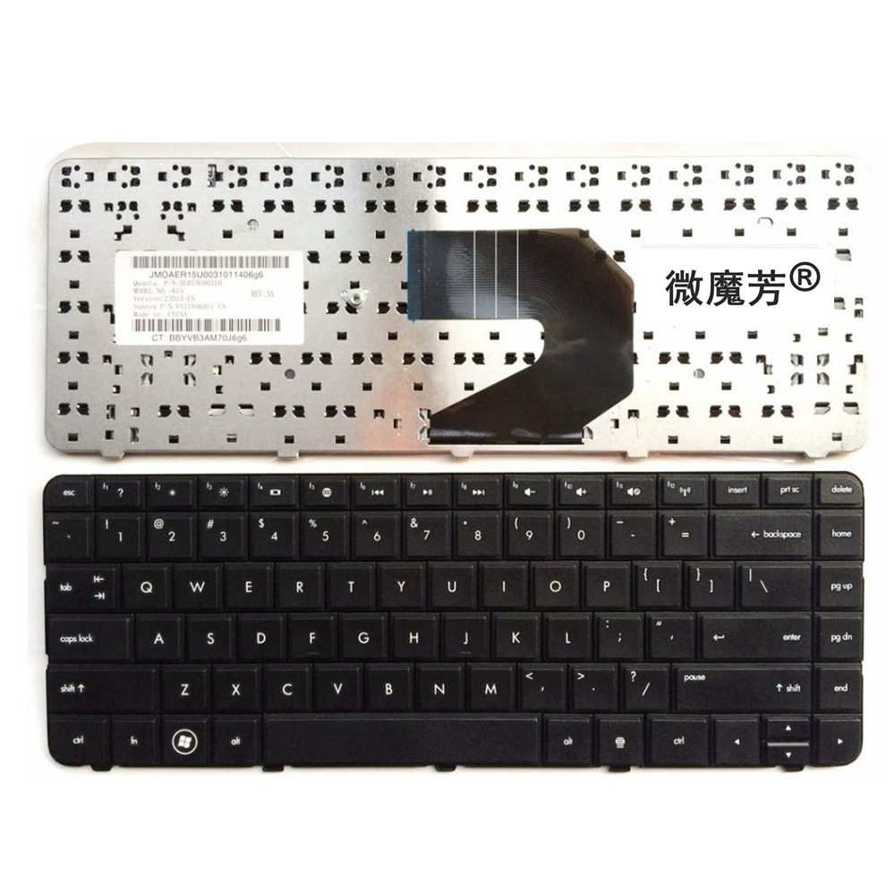 Inglés teclado para HP G6X G6T G6S G6 serie nos teclado del ordenador portátil